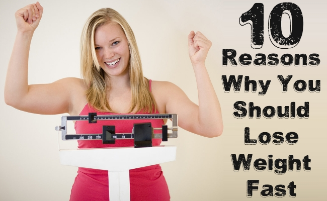 Reasons Why You Should Lose Weight Fast