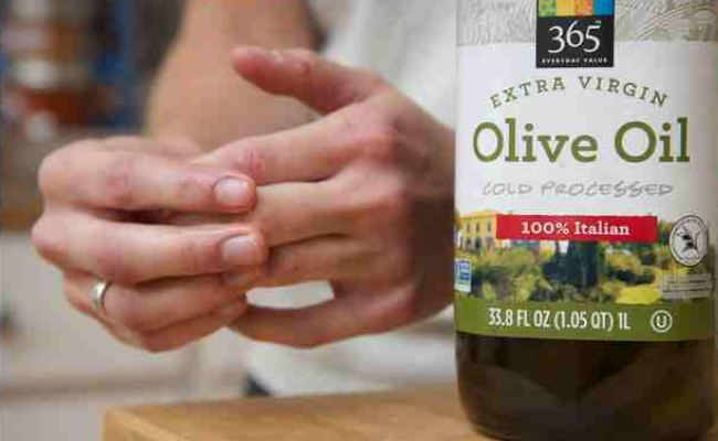 Rub with olive Oil