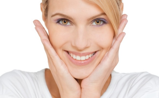 Facial excercises crows feet