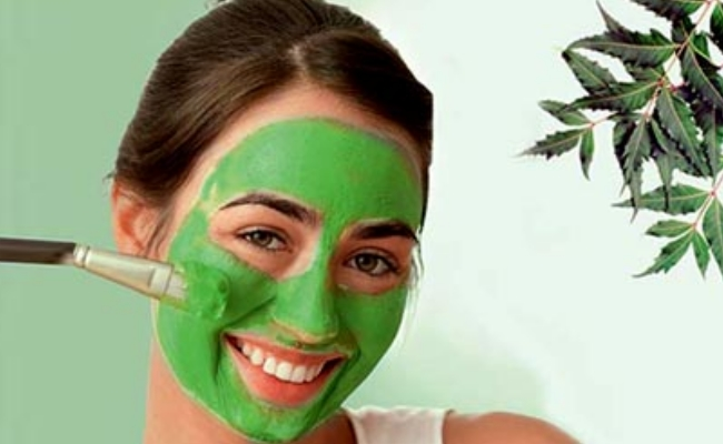 Remedy for clear skin using neem leaves