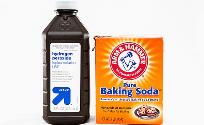 Baking Soda With Hydrogen Peroxide