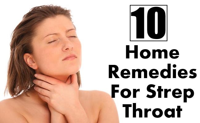 10 Home Remedies For Strep Throat Morpheme Remedies India