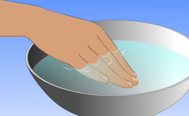 Use Warm Water
