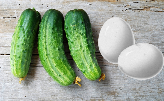 Cucumber And Egg Breast Mask