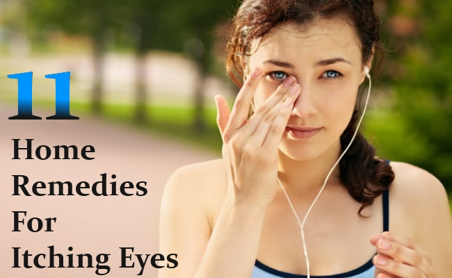Home Remedies For Itching Eyes