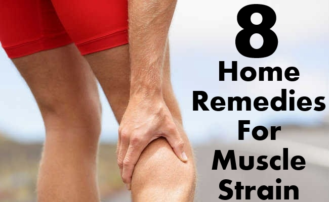 Home Remedies For Muscle Strain