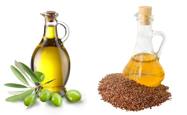 Olive Or Flax Seed Oil