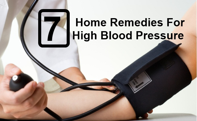 7 Home Remedies for High Blood Pressure