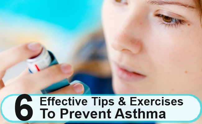 Effective Tips And Exercises To Prevent Asthma