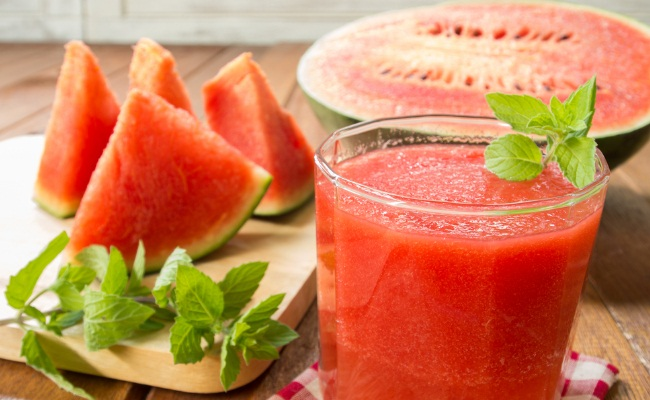 Watermelon - fruit, juice and seeds