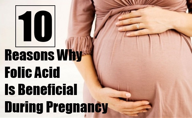 Folic Acid Is Beneficial During Pregnancy