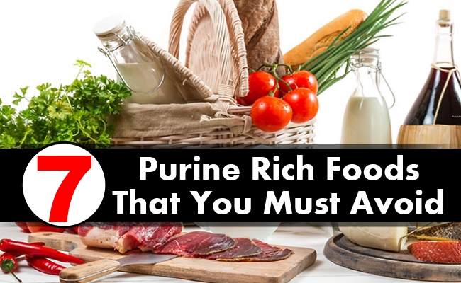 List Of Purine Content In Foods