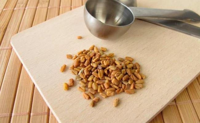 Fenugreek seeds solution