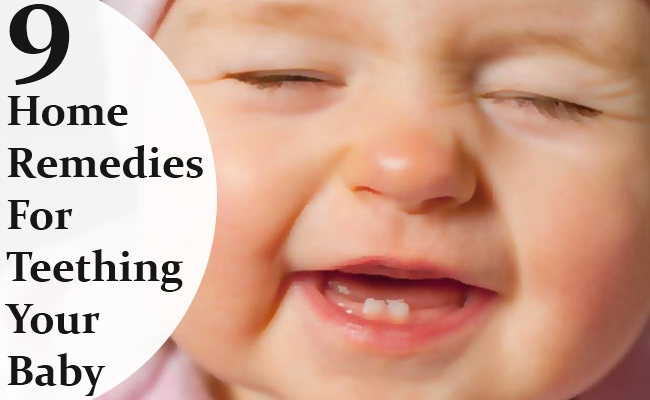 Home Remedies For Teething Your Baby