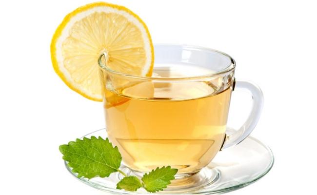 Lemon With Green Tea