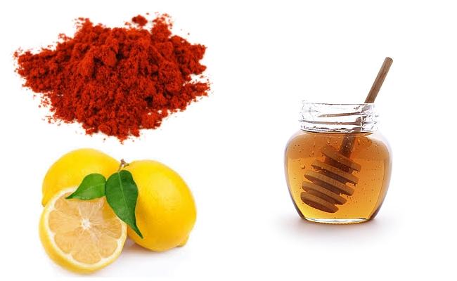 Paprika With Lemon And Honey