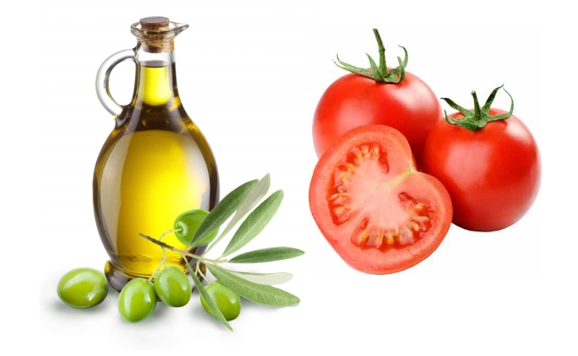 Tomato With Olive Oil