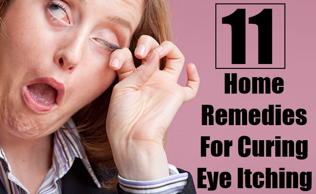 Home Remedies For Curing Eye Itching