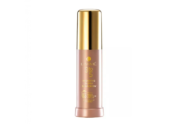 Lakme 9 to 5 Hydrating super sunscreen SPF 50