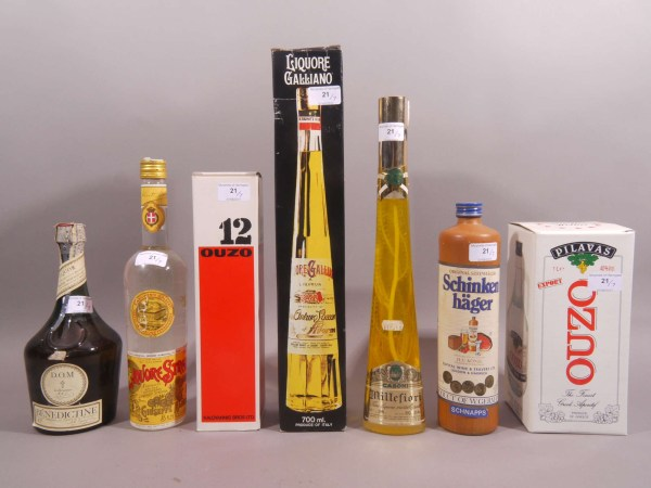 Lot 21 Dictine 43 Bottle Size Wax