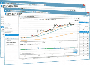 Screenshot of Morpheus Stock Scans