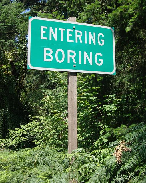 boring strategy