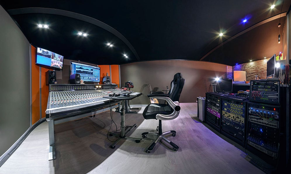Morphing Studio Control Room