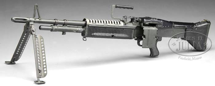 **M60 MACHINE GUN AS MANUFACTURED BY ROCK ISLAND ARSENAL (FULLY TRANSFERABLE)