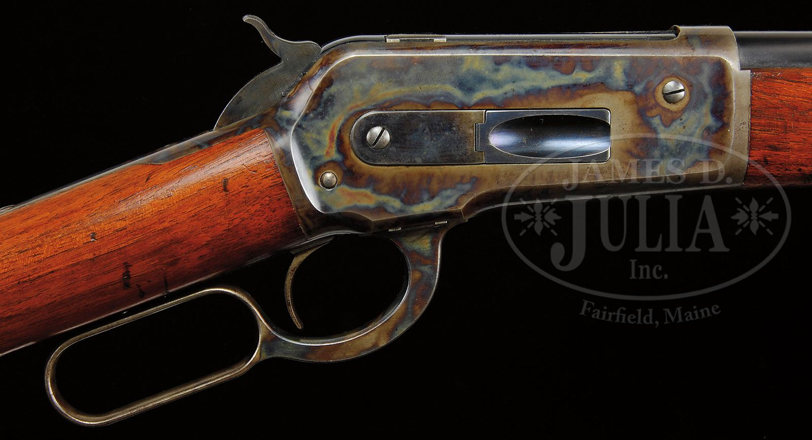 Exceptional Winchester Model Big 50 Lever Action Rifle