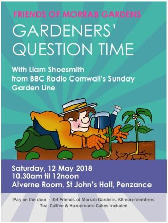 Friends of Morrab Gardens event, 12th May 2018