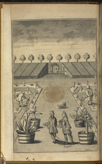 Frontispiece of The City Gardener by Thomas Fairchild (1667—1729)