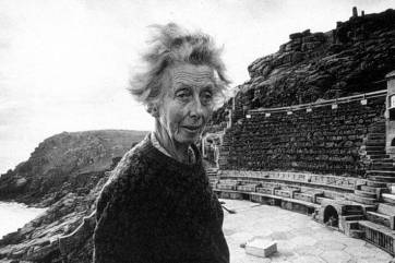 Rowena Cade, the woman who created the Minack theatre on the cliffs of West Cornwall