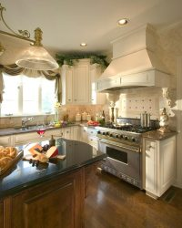 White Country French Kitchen | Allentown, PA | Morris Black