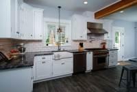 Traditional White Kitchen in Allentown, PA | Morris Black