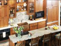 Transitional Copper Kitchen | PA | Morris Black Designs