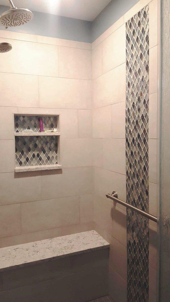 Baby Blue Bathroom in Allentown Pennsylvania