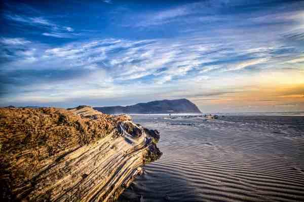 landscape in seaside