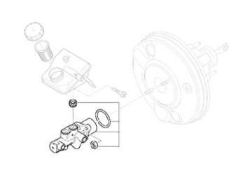 Mini Cooper Brake Master Cylinder Value Line W/asc