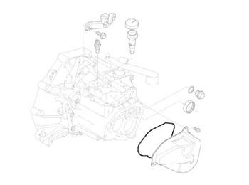 Mini Cooper Cover Gasket Midlands 5-spd Oem Gen1 R