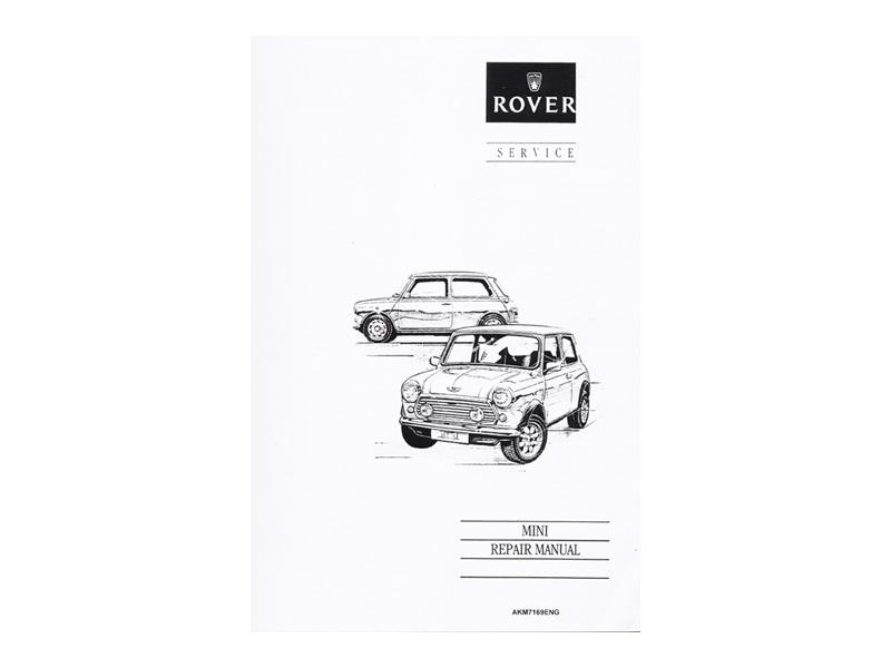 Austin Mini Reprint Of Factory Rover Service Manua