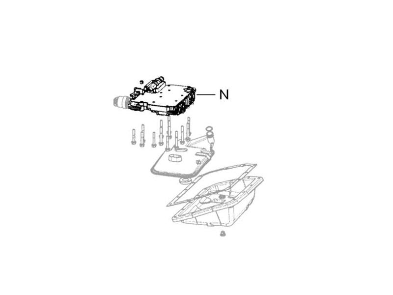 Mini Cooper Cvt Transmission Valve Body Assembly G