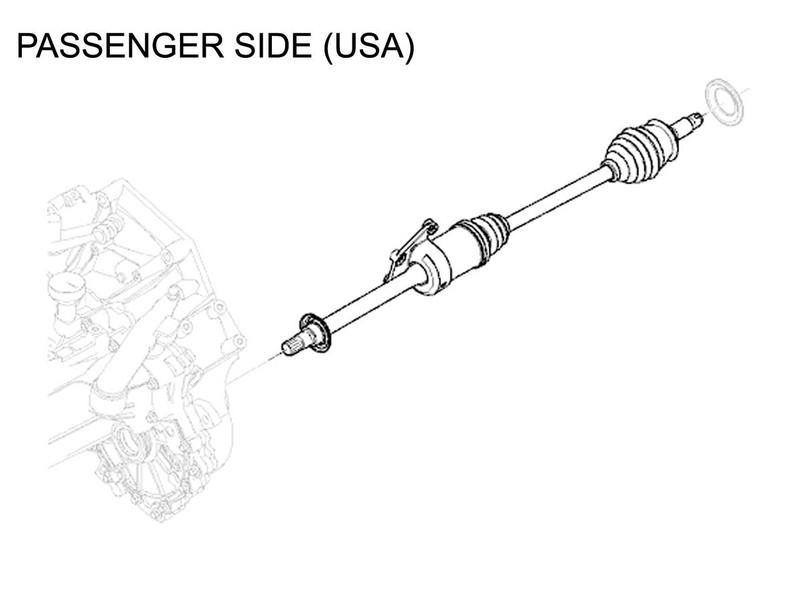 Mini Cooper Drive Axle Shaft Right Manual Oem Gen1