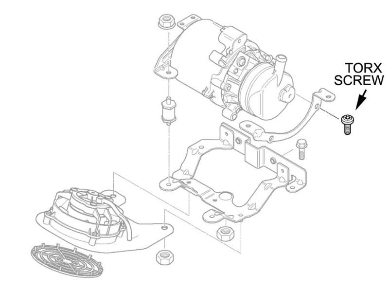 2005 Mini Cooper Power Steering Pump Ledningsdiagram