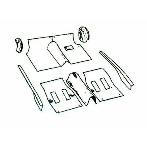 Carpet Set-MM Models (BROWN) Newton Commercial R/H/D