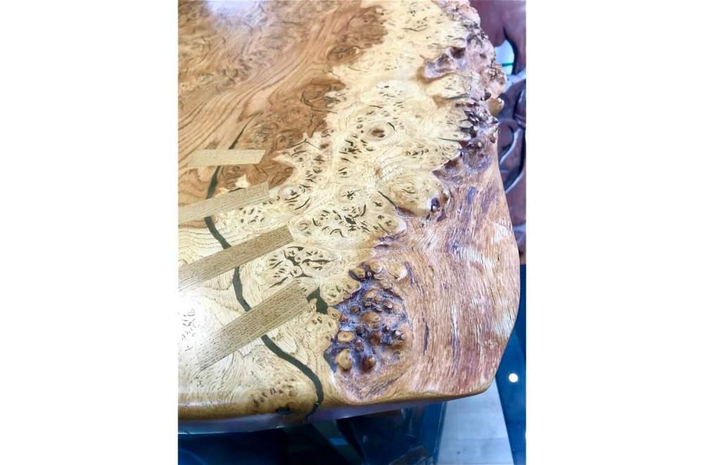 Burr Elm Table
