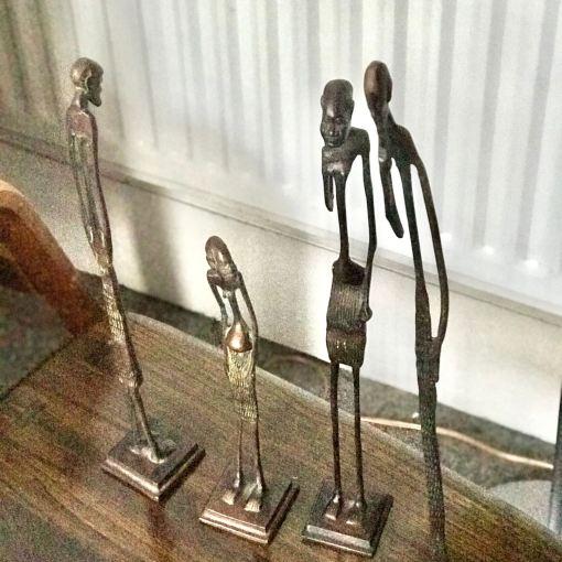 African Bronze Figures