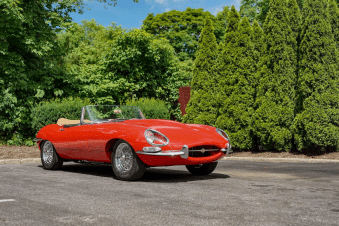 Jaguar Type E roadster 1963