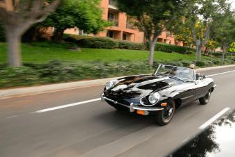 Jaguar Type E roadster 1969