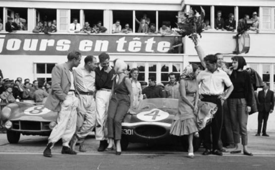 La victoire de XKD501 aux 24 heures du Mans 1956