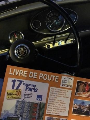 Livre de route de la Traversée de Paris 2017